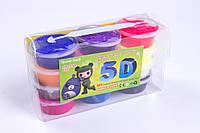 Моделін засихає (маса для ліплення) кульки №7670, 20 г/пакетик, 12 кольорів+3 стека, товари для творчості, фото 1