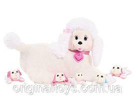 Мягкая игрушка-сюрприз Puppy Surprise Собачка Стейси и щенки Just Play