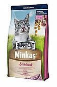 Happy Cat Minkas Sterilised 10кг, сухой корм для кошек стерилизованных 70409
