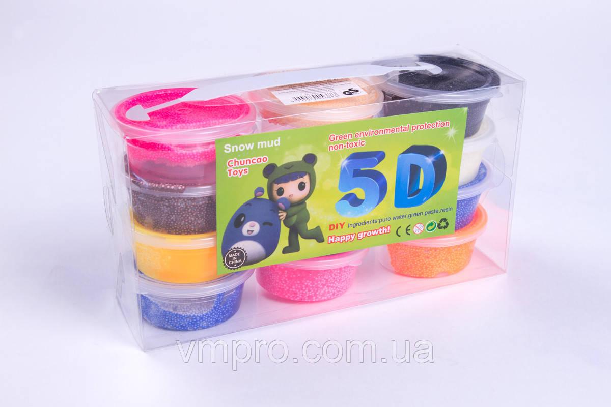 Моделін засихає (маса для ліплення) КУЛЬКИ №5431, 20 г/пакетик, 12 кольорів+3 стека, товари для творчості