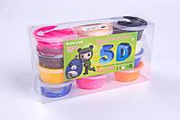 Моделин засыхающий (масса для лепки) ШАРИКИ №5431, 20 грамм/пакетик, 12 цветов+3 стека, товары для творчества, фото 1