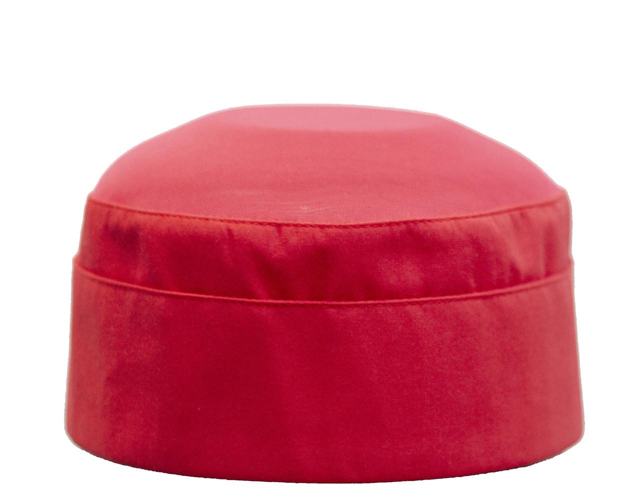 Шапка поварская «ТАБЛ», красная