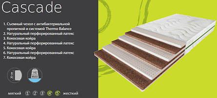 ✅Ортопедический матрас Cascade 70x190 см. Evolution, фото 2