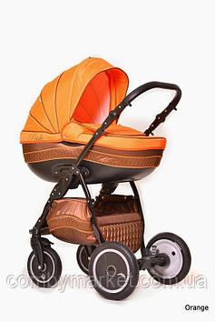 Детская коляска 2 в 1 Pride Orange, Ajax Group