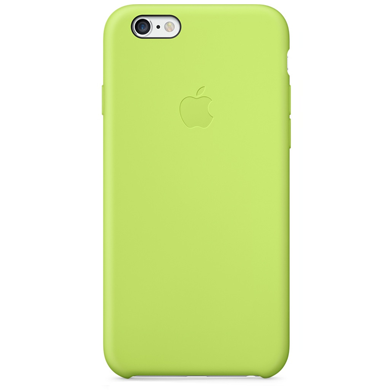 Чехол iPhone 6/6s Silicone Case OEM ( Green )
