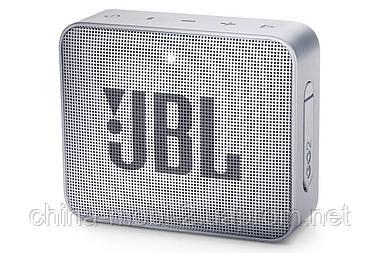 Портативная акустика JBL Go 2 Grey