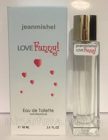 Духи женские jeanmishel Love Funny 60ml в высоком флаконе, фото 2
