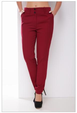 Классические однотонные брюки