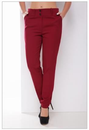 Классические однотонные брюки, фото 2