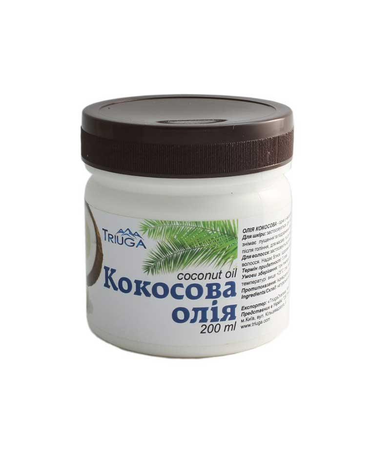 Масло кокосовое для тела, 200 мл, Triuga