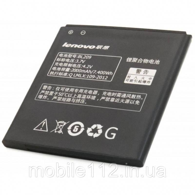 Аккумулятор на Lenovo BL209, 2000mAh A378T/ A398T/ A516/ A630E/ A706/ A760/ A788T/ A820E