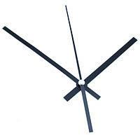 Стрелки для часов, часового механизма, комплект из 3 стрелок, длинные 5 шт