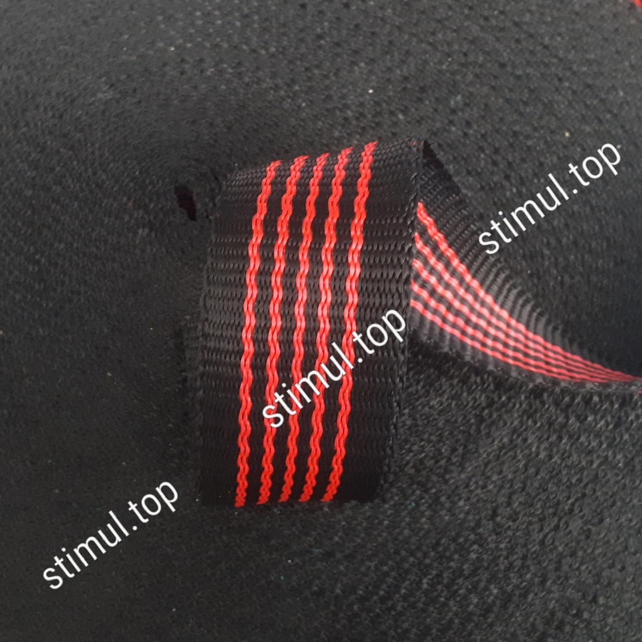 Лента буксировочная для стяжных ремней 50 мм х 50 м – Стрічка для стяжних, буксирувальних ременів чорна