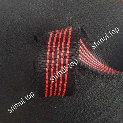 Лента буксировочная для стяжных ремней 50 мм х 50 м – Стрічка для стяжних, буксирувальних ременів чорна, фото 2