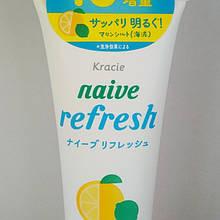 Пінка для вмивання з екстрактом цитрусових Kracie Naive Сleansing foam, 143 г