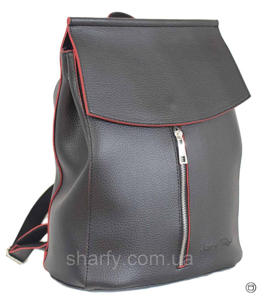 b02101c1b568 Жіночий Наплічник (рюкзак) Чорний З Червоним. — в Категории