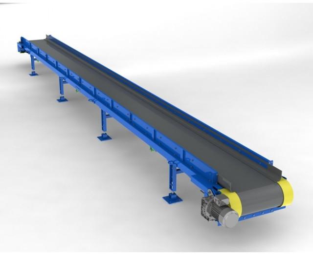 Конвейер перемещения автомобиля реверсивный катучий конвейер