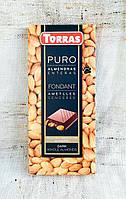 Torras Dark Chocolate Whole Almonds 200 gramm