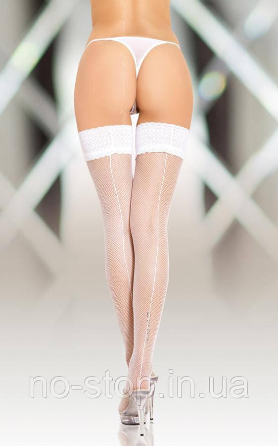 Чулки - Stockings 5537, white