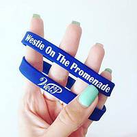 Силиконовые браслеты с нанесением Вашего логотипа/надписи