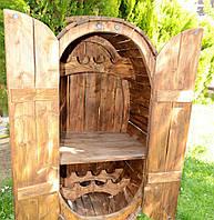 Бар, дом  деревянный для бутылок