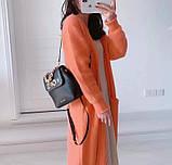 Рюкзак, портфель мини от Майкл Корс натуральная кожа, цвет черный с золотом, фото 9