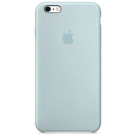 Чехол iPhone 6/6s Silicone Case OEM ( Бледно синий  5)