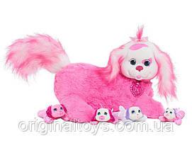 Мягкая игрушка-сюрприз Puppy Surprise Собачка Лекси и щенки Just Play