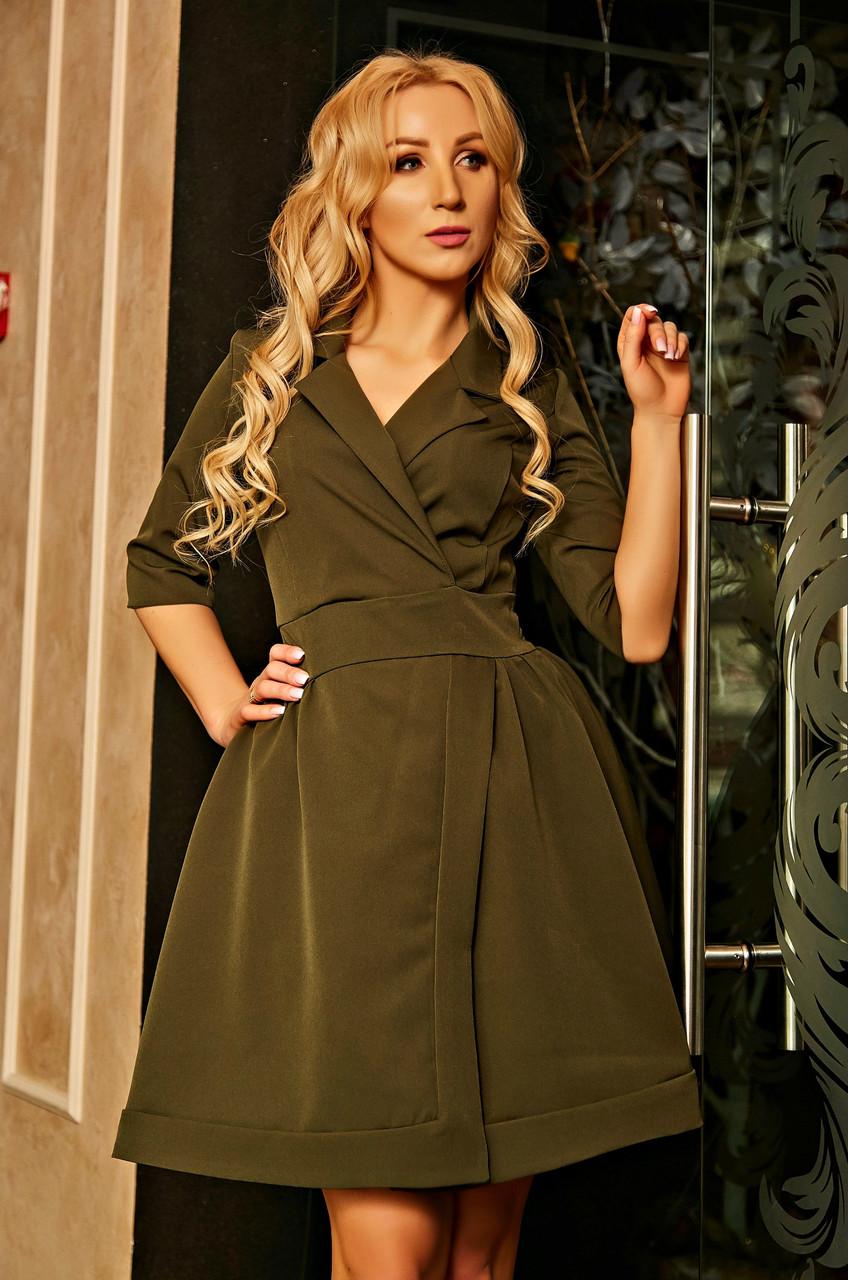 """Женское платье """"Prado"""" (хакки)"""