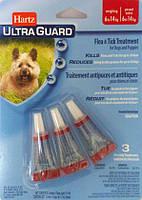 Hartz (Хартц) UltraGuard капли на холку для щенков и собак 6-14 кг от блох, клещей и комаров