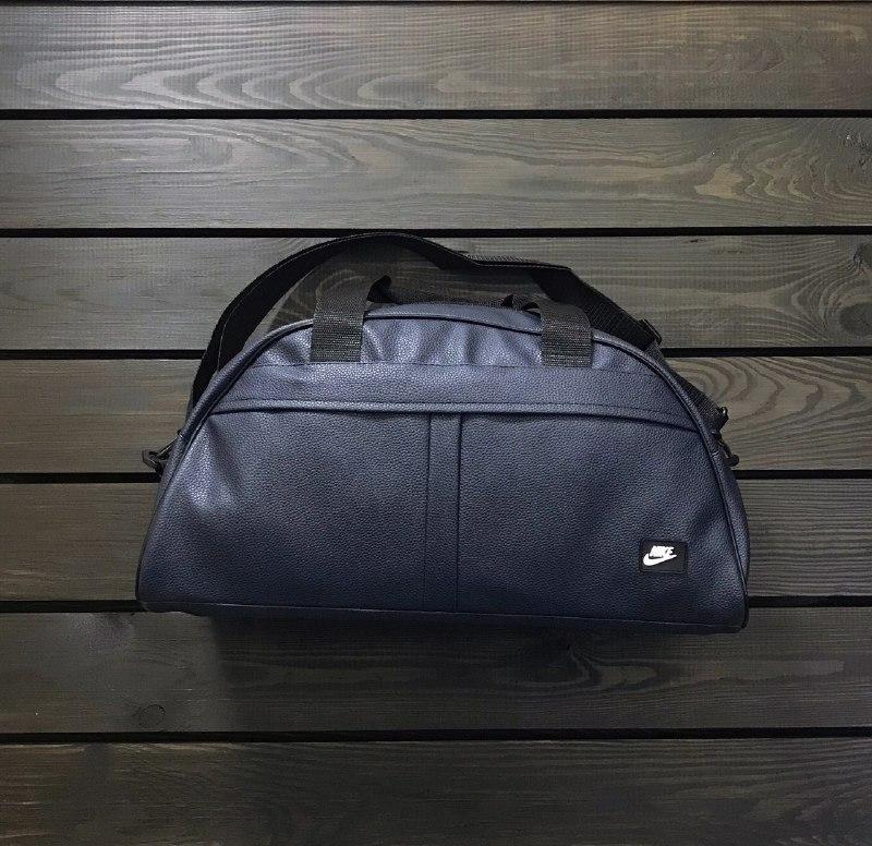 0add5886 Мужская спортивная сумка Nike (реплика) темно синяя, пресс кожа, цена 320  грн., купить в Харькове — Prom.ua (ID#898026887)