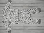 """Детский комплект из двух предметов распашонка+штанишки для малышей """" Лисички"""", фото 2"""