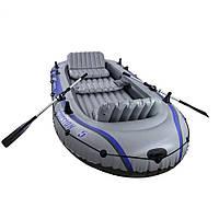 Лодка Intex Excursion Intex Серый (int68325)