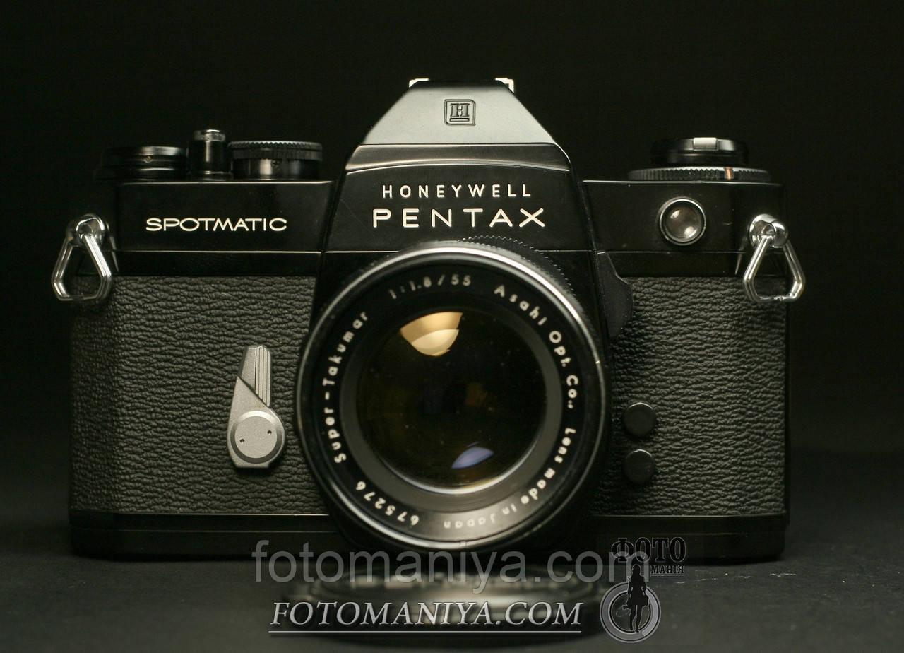 Pentax SP IIa Super-Takumar 55mm f1.8