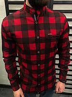 0c0599d8306 Красные Рубашки в Клетку — Купить Недорого у Проверенных Продавцов ...