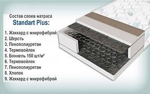 ✅Ортопедический матрас Standart Plus/Стандарт Плюс 70x190 см. Sleep&Fly, фото 2