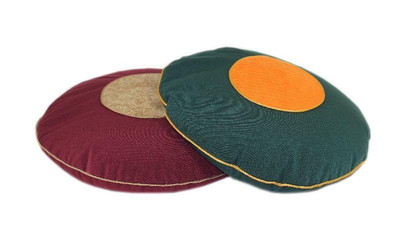 Подушка круглая вельветовая