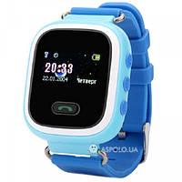 Детские смарт часы с GPS трекером Smart Baby Watch Q60 Blue Акция -38%! b6dfa98510db8