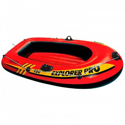 Лодка надувная Intex 58355 EXPLORER на 1 человека Красный (int58355), фото 2