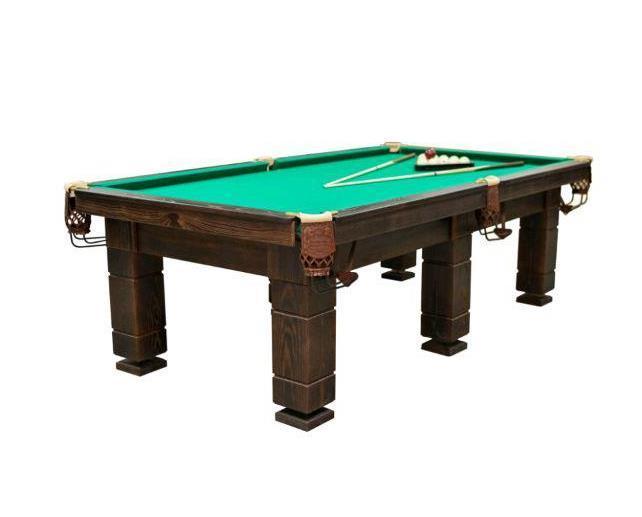 Більярдний стіл царський 10 футів
