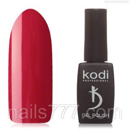 Гель лак Kodi  №01WN, бордово-красный, фото 2