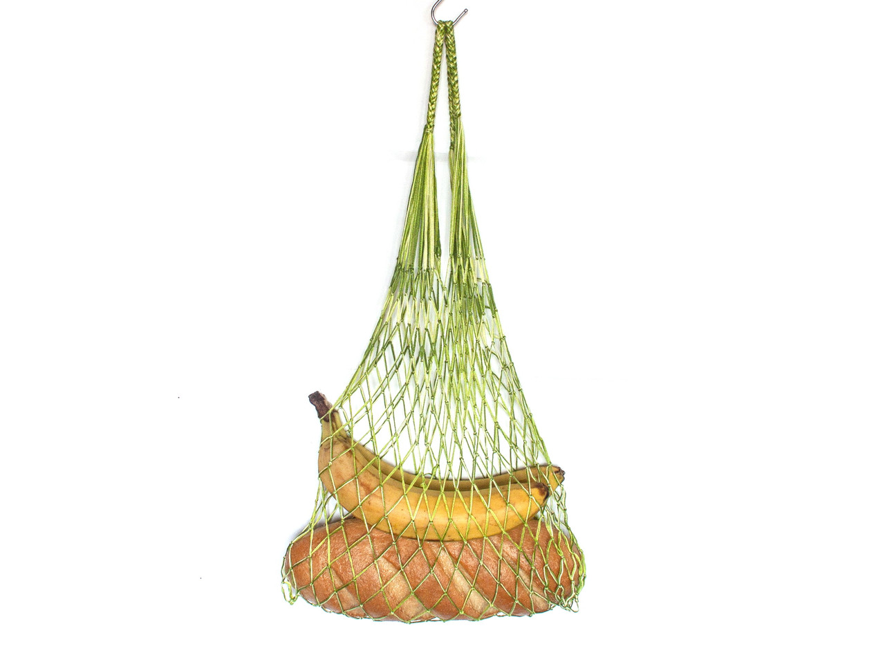 Сумка  хлопковая - Авоська - Премиум - Зеленый микс