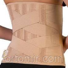 Бандаж для спины с ребрами жесткости высокий