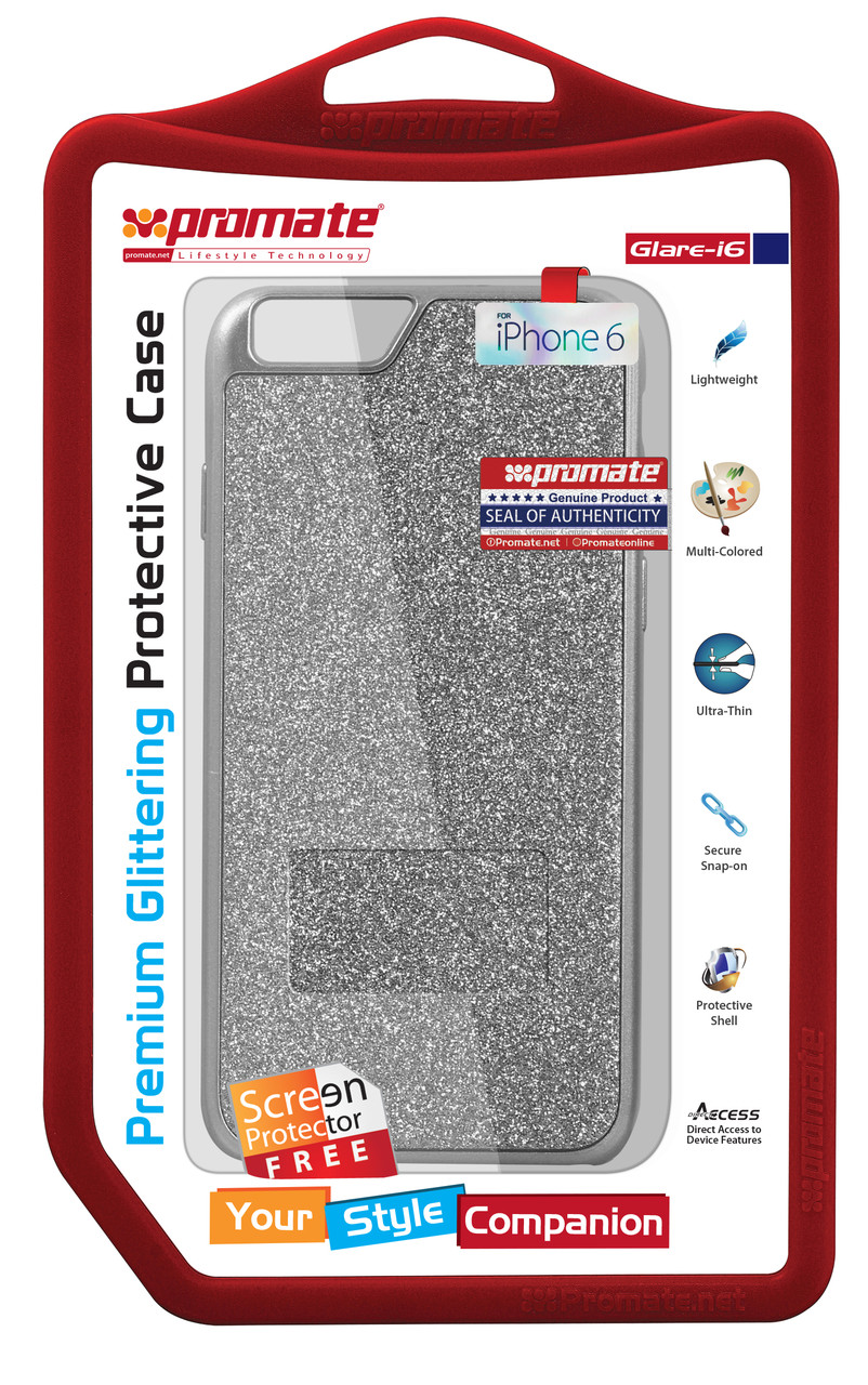 Чехол для iPhone Glare-i6 Silver