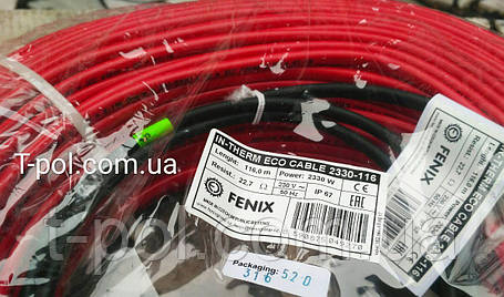 Кабель для теплого пола In-therm eco pdsv20 2790вт 139м чехия на 18.5 м2, фото 2