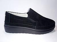 Женские замшевые слипоны ТМ Allshoes, фото 1