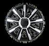 Колпаки на колеса R 17 Мираж Супер Блэк (черный)