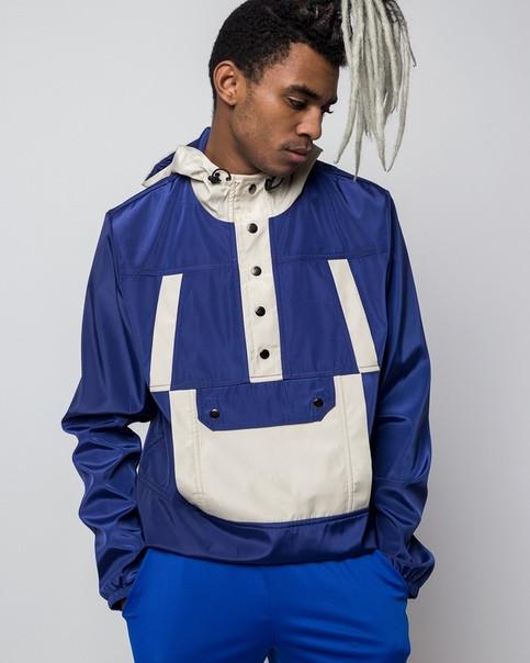 Анорак мужской синий бренд ТУР модель Варриор (Warrior) размер S, M, L, XL