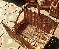 Корзина плетеная для дров
