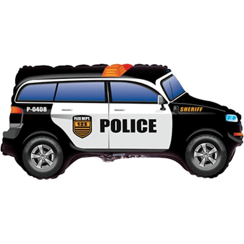 Фольгированный шар Джип, Полиция, Flemetal (Испания)